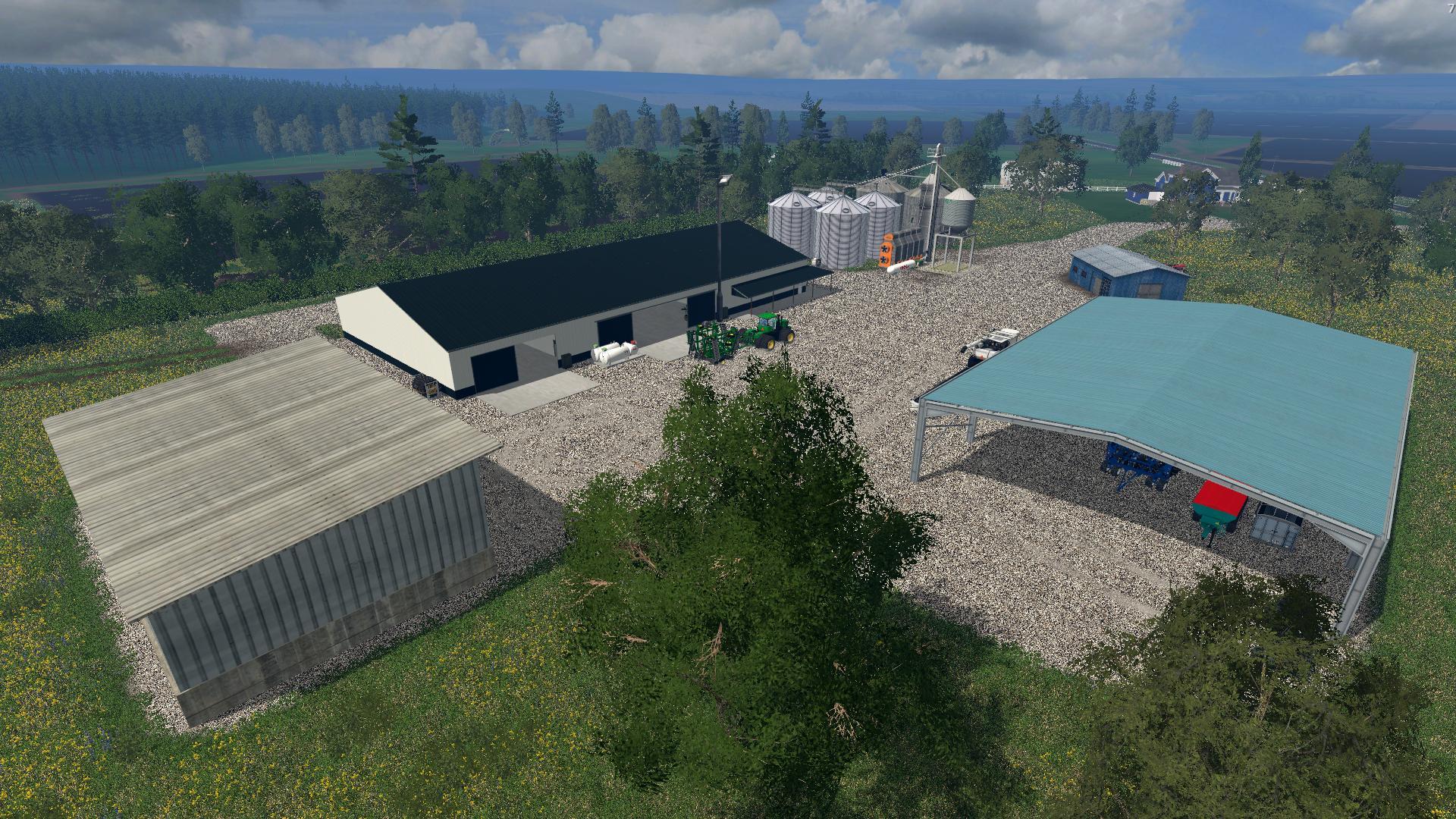 Emerald Coast USA Map v10 mod for Farming Simulator 2015