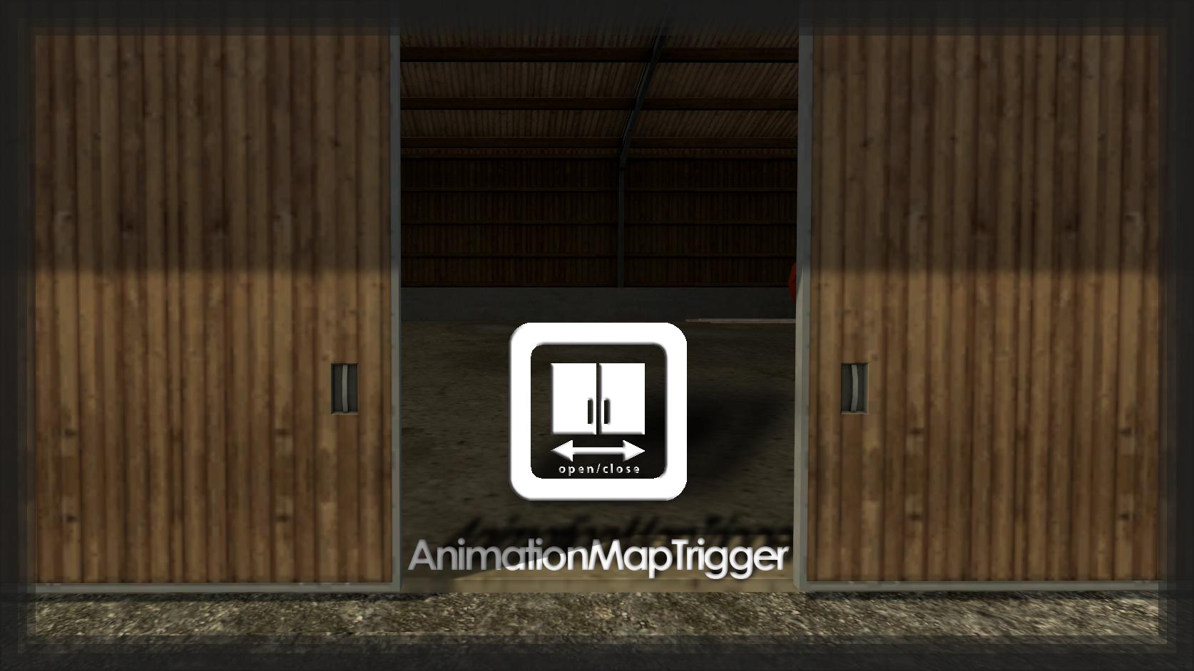 Animation Map Trigger Mod mod for Farming Simulator 2015