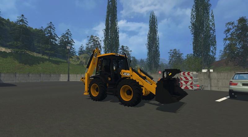 JCB 4CX v 1 0 mod for Farming Simulator 2015