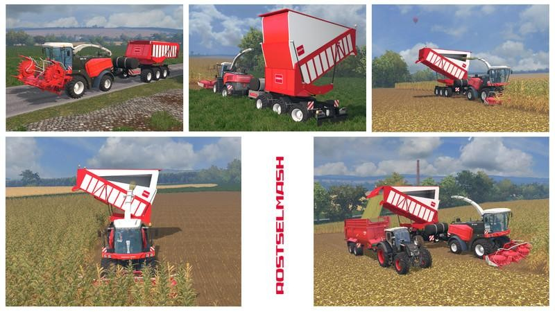 Silage Cargo Trailers v3 1 FINAL mod for Farming Simulator 2015