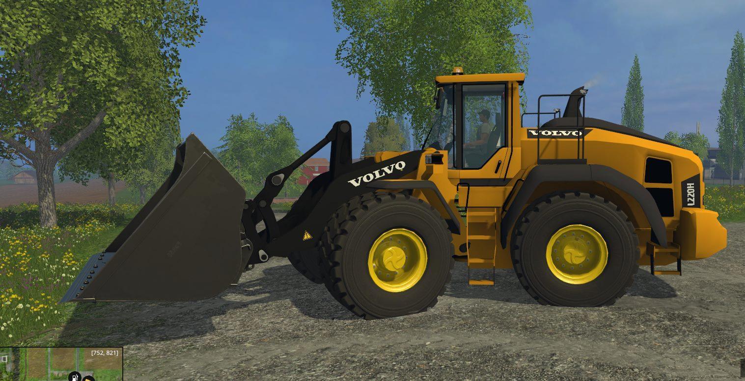 Volvo L220h V2 Mod For Farming Simulator 2015