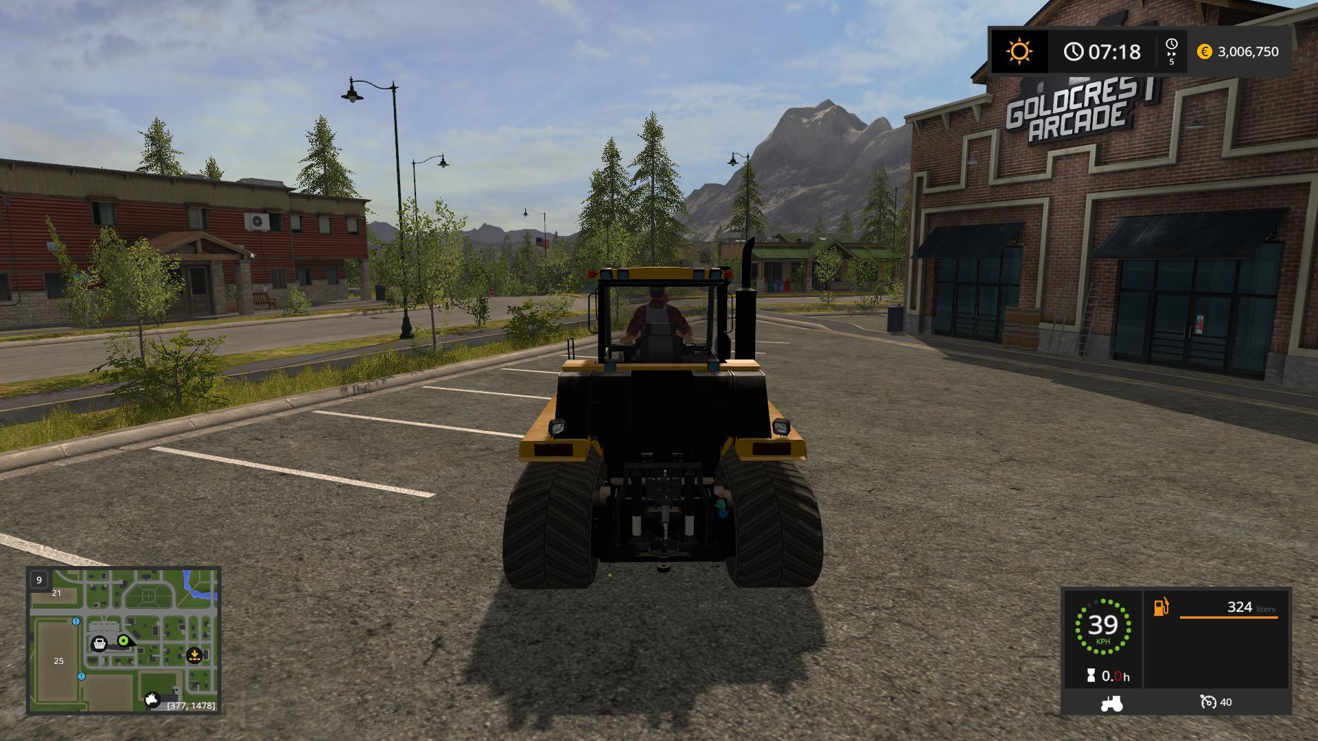 Cat 75c Farming simulator 17 v1 0