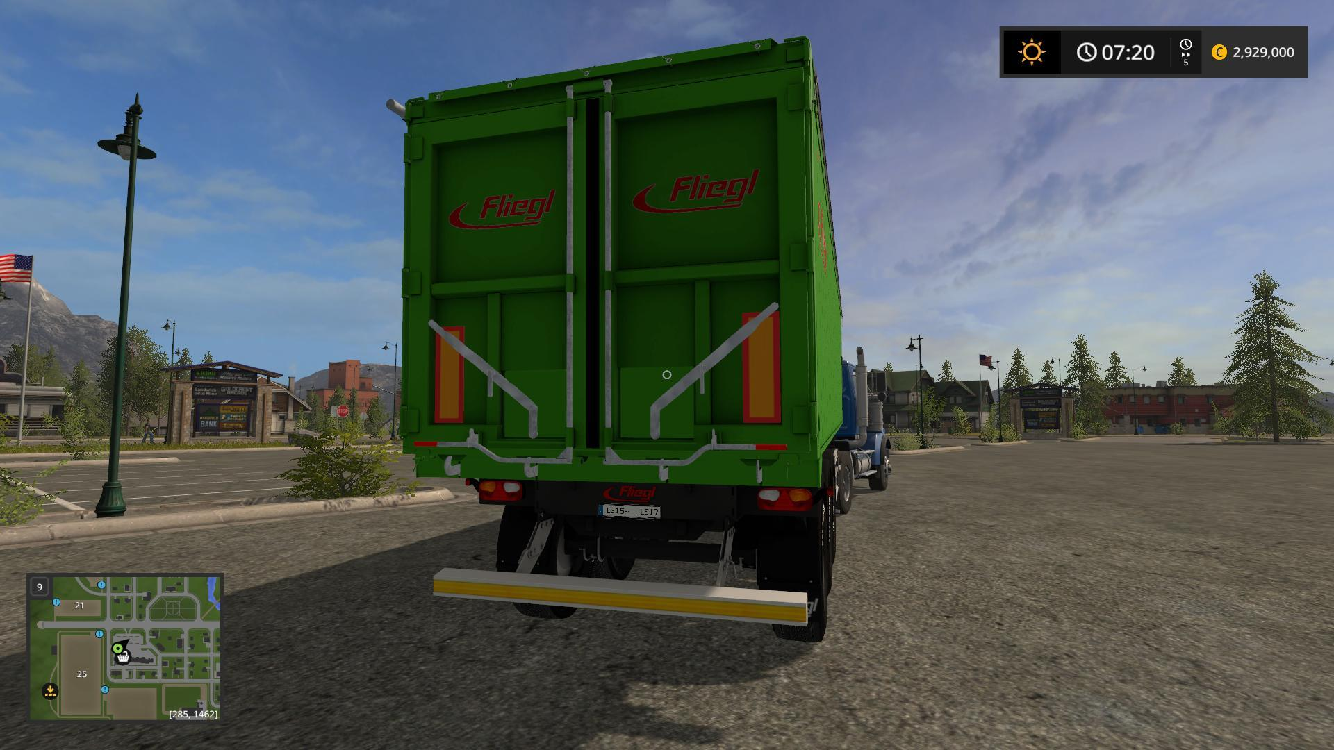 fliegl green line trailer v2 0