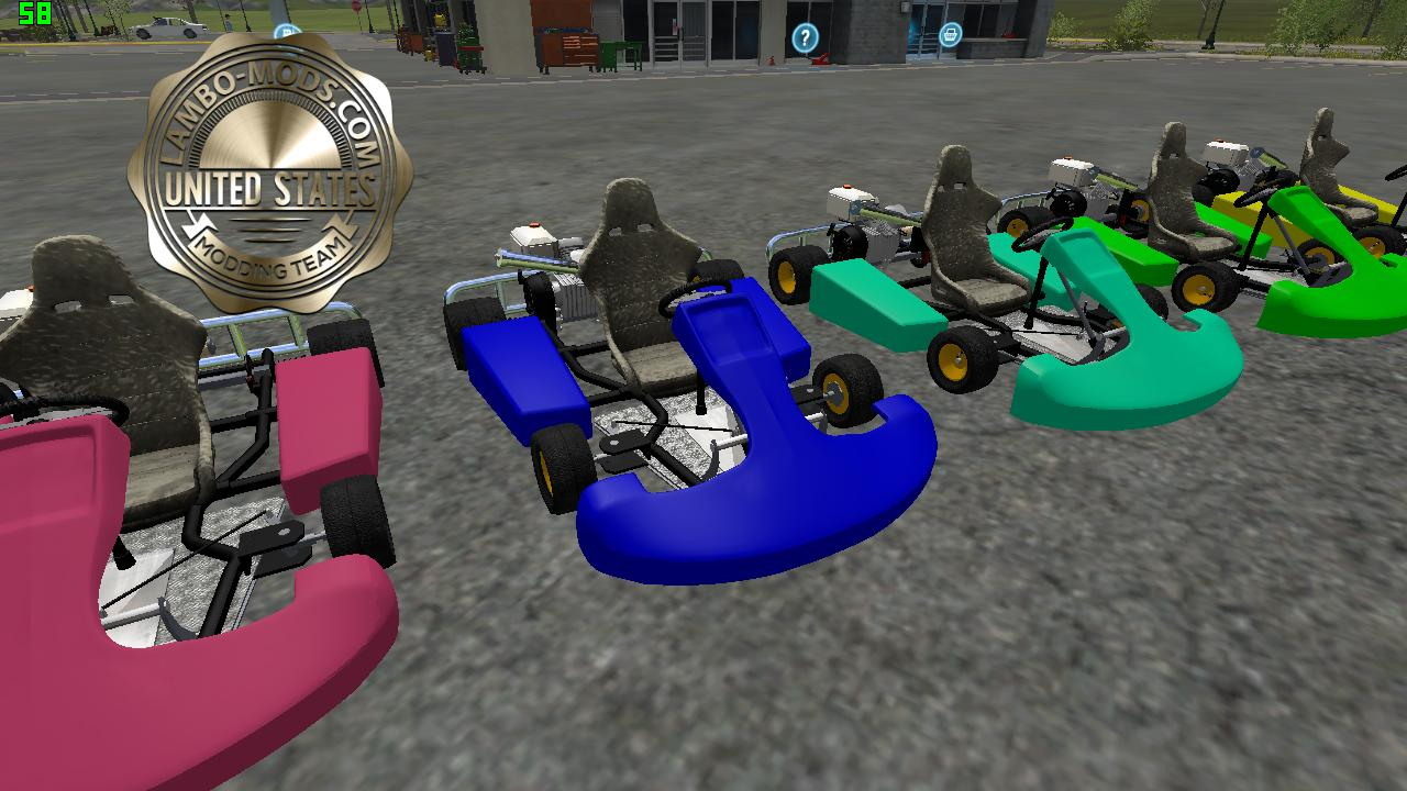 Go Cart Multi Color v2 0