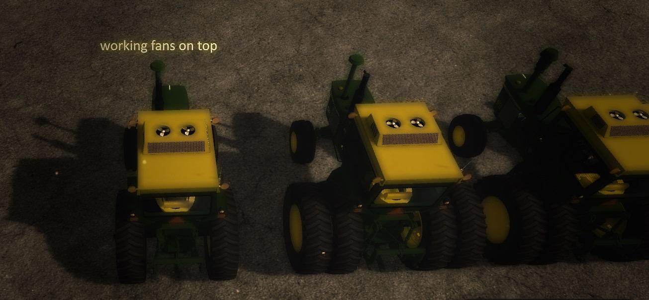 OLD IRON JD 20 series 2wd TRACTOR v1 0