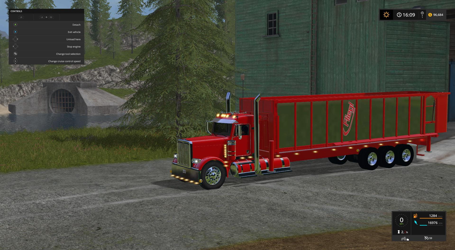 Tipper bed for my peterbilt 388 custom v10 images sciox Image collections