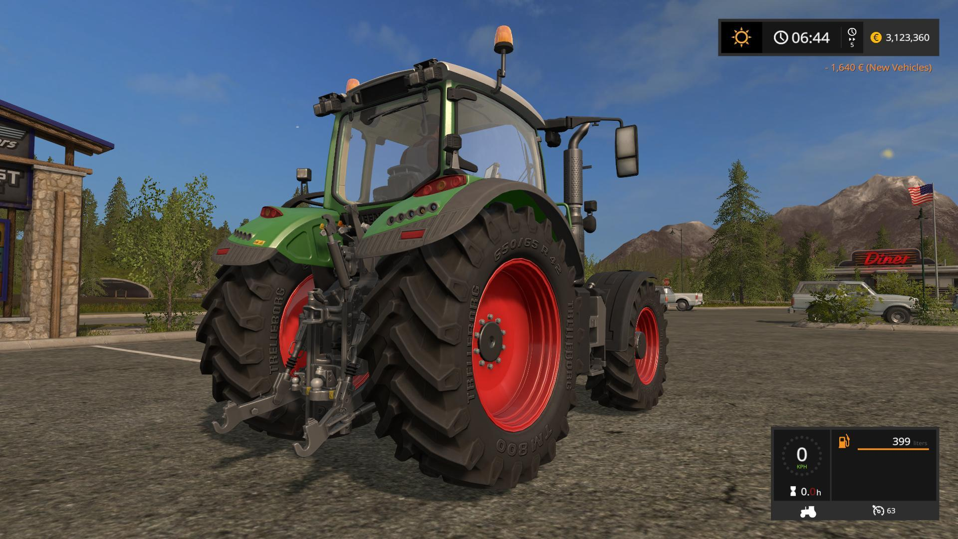 Fastest Tractor Farming : Fendt v