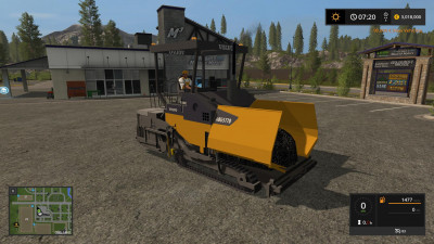 мод асфальт для farming simulator 2017