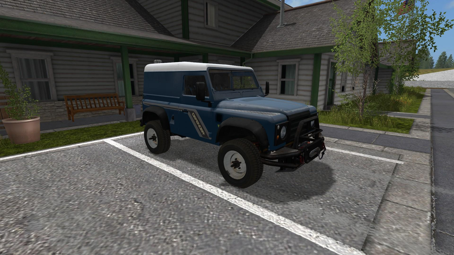 Land Rover Defender 90 V1 0