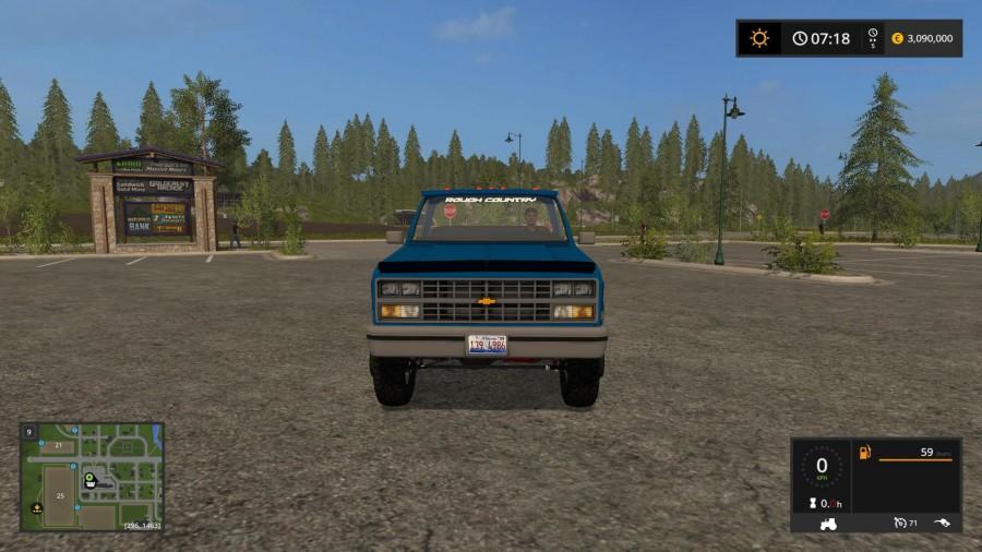 1984 Chevy K30 v1 0