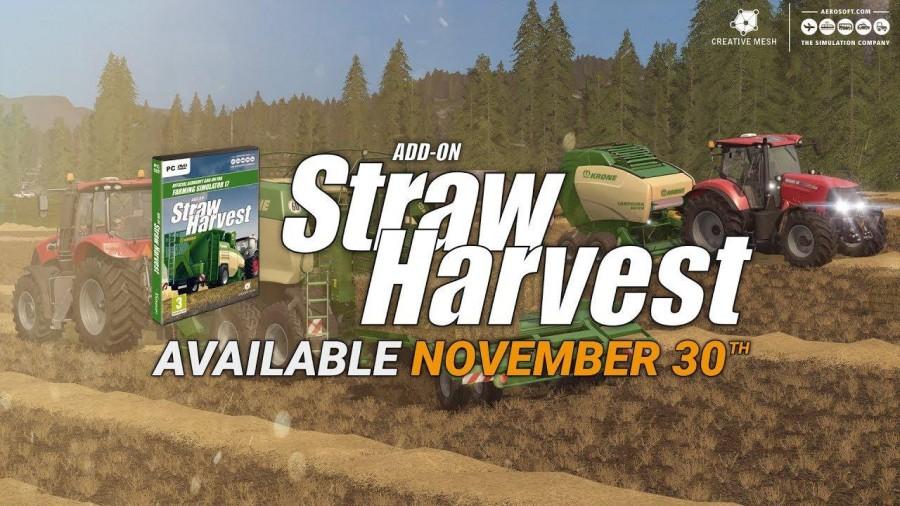 FS17 Add-On Straw Harvest v1 0