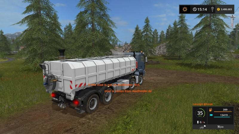 MAN TGS 8x8 with HVAC V1 0