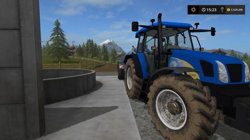 New Holland T5050 v1 0
