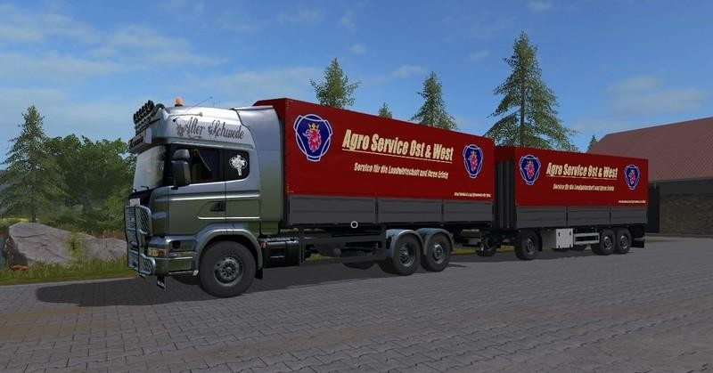 Scania R730 With Tarpaulin Super Structure UAL V1.0