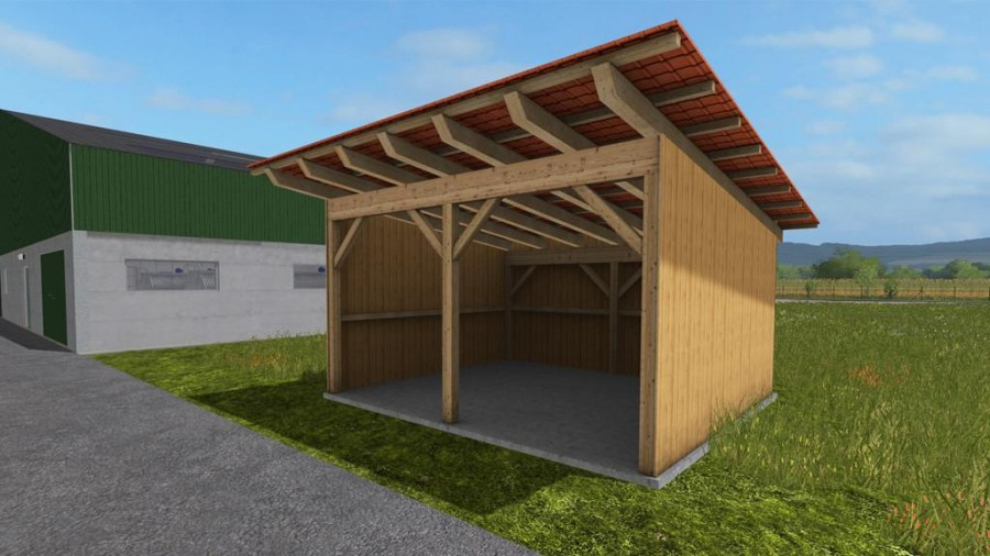 Small Tractor Shelters : Small shelter v