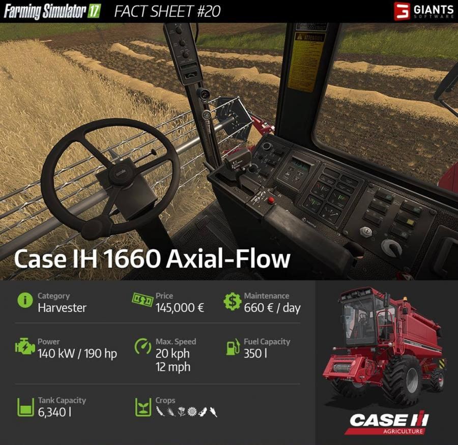 first combine revealed case ih 1660 axial flow rh mods2017portal com Case IH Combine History Case IH Combine in a Shoe