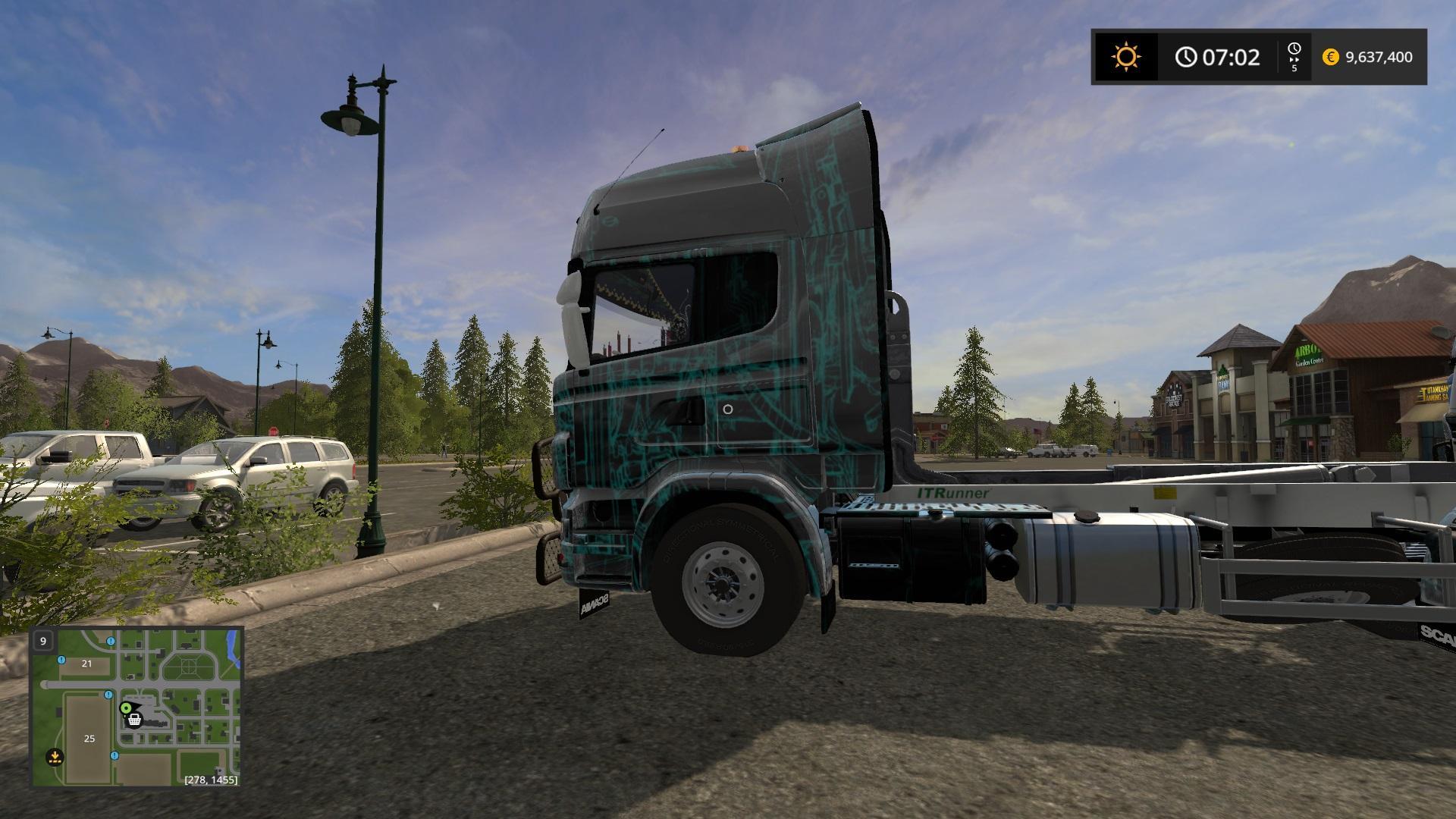 Scania Lift Multi Color Skin V1.0